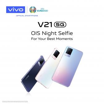 เปิดตัว Vivo V21 5G กล้องหน้า 44 ล้านพิกเซลพร้อม OIS รุ่นแรกของโลก บนดีไซน์บางเบา