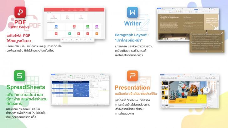 WPS Office เดินหน้าเปิดตลาดคอนซูมเมอร์ซอฟต์แวร์ราคาประหยัด แต่ประสิทธิภาพมืออาชีพ