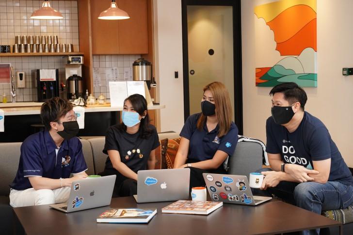 เซลส์ฟอร์ซประกาศเปิดตัวออฟฟิศแห่งแรกในประเทศไทย